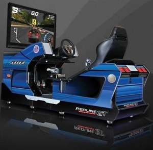 Chicago Gaming Company Redline GT Racing Simulator race stoel