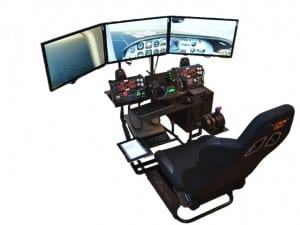 Volair Sim Universele Flight of Race Simulation Cockpit Chassis gaming chair