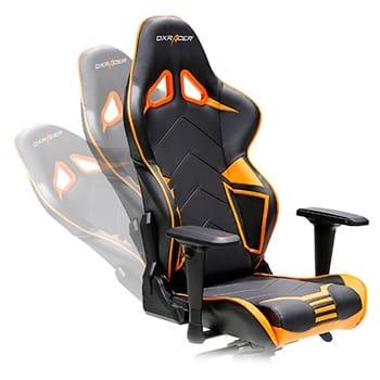 dxracer stoel rugleuning