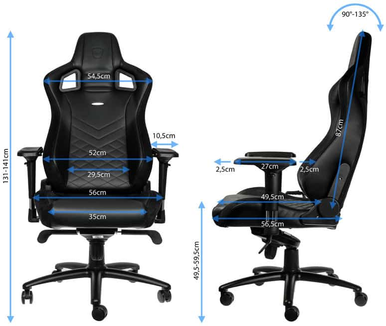 review gamestoel noblechairs epic kopen