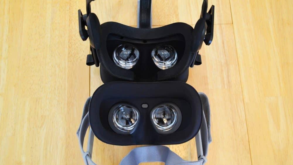 Vooraanzicht Oculus Go